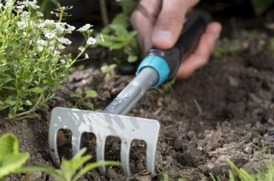 Грабли цветочные 8.5 см Comfort (ручной инструмент) (В наличии в Новосибирске)