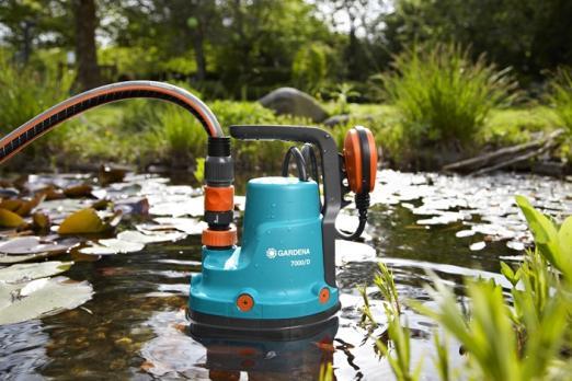 Насос дренажный для грязной воды 7000/D