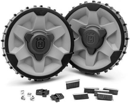 Колеса с утяжелением (2х500гр) и комплект колёсных щёток (310 / 315)