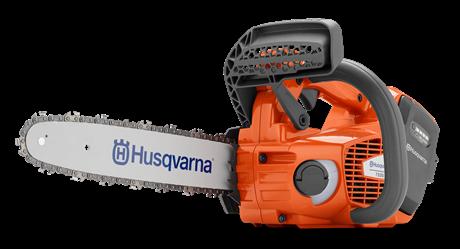 """Аккумуляторная цепная пила (профи) Husqvarna T535iXP_14"""" , Компактная конструкция, для работы на вышке."""
