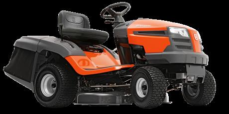 Трактор садовый HUSQVARNA ТС 138L с травосборником  (С оптового  склада дешевле  тел.291-30-04)