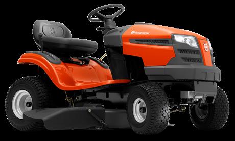 Трактор садовый HUSQVARNA TS 138L с боковым выбросом  (С оптового  склада дешевле  тел.291-30-04)