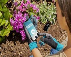 Перчатки садовые для работы с почвой, размер 9 L Gardena_4