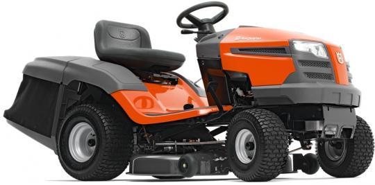 Трактор садовый HUSQVARNA ТС 138 с травосборником (С оптового  склада дешевле  тел.291-30-04)